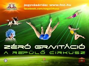 Zéró gravitáció plakát