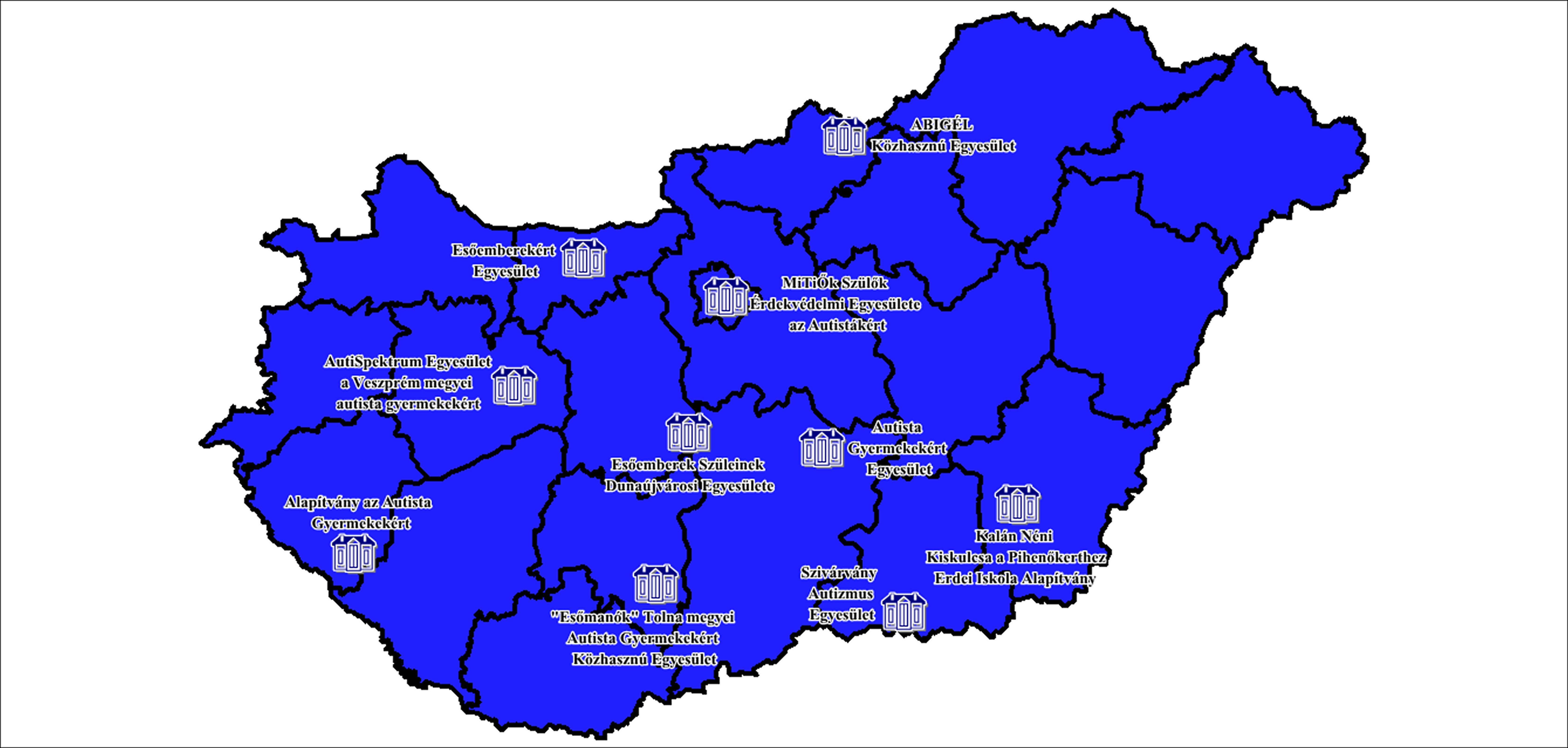 Hálózati tevékenységben résztvevő szervezetek
