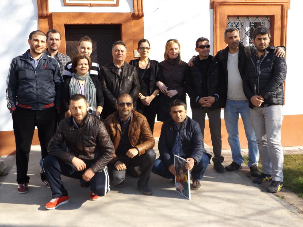 török látogatás