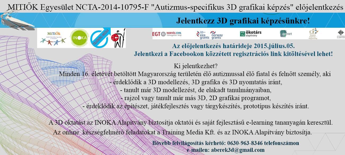 MITIŐK INOKA 3D grafikai képzés